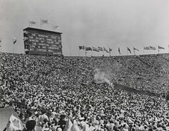 The XIV Olympic Games opens in London, 1948.