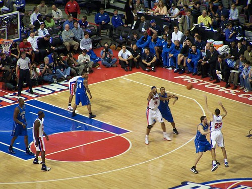 Detroit Pistons vs. Magic '04 Playoffs