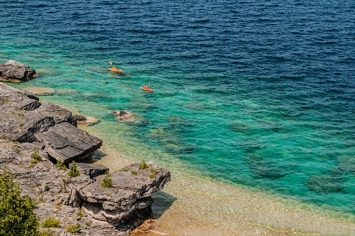 Coastline around Bruce Peninsula National Park