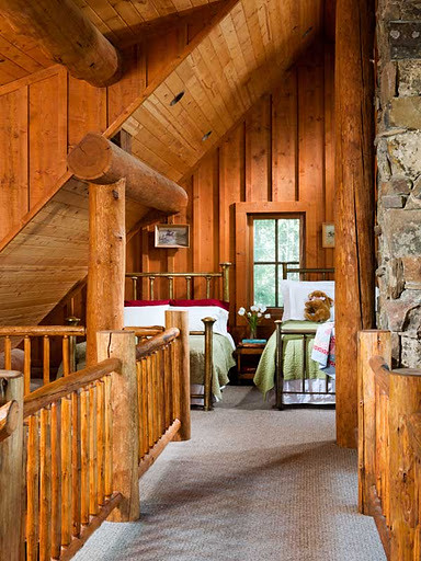 Small Cabin Loft