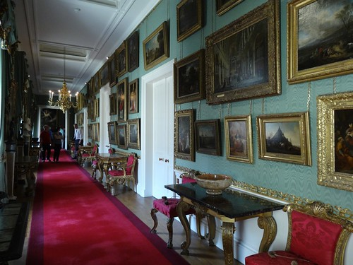 One of the Gallery Hallways at Chatsworth