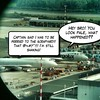 Scrapyard fear! #aviation #humour #comics #boeing #747 #cargolux #fear #scrapyard #iphone #snapseed