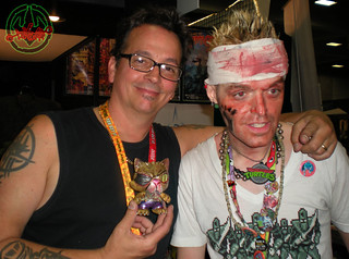 "San Diego Comic-Con 2012; HEAVT METAL BOOTH /  Tokka presents Kevin Eastman tOkKustom :: ""OLD HOB"" TRIKKY"