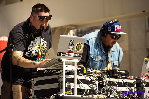 A Tribe Called Red @ Mad Decent Block Party- Toronto 2012