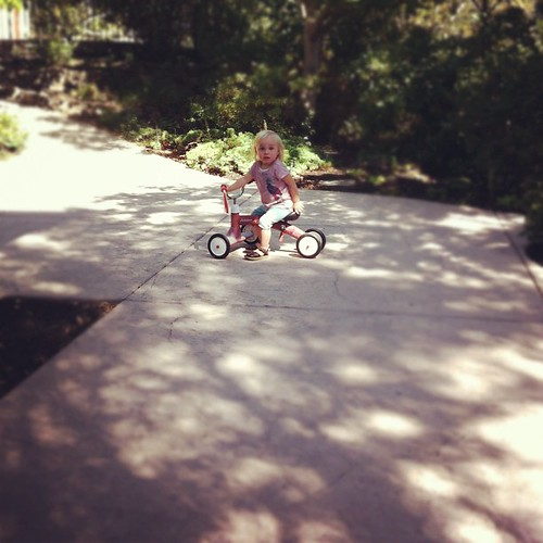 Stella and her radio flyer