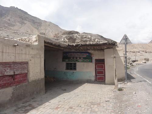 """Fast Food"" at the Karakoram Highway, China"