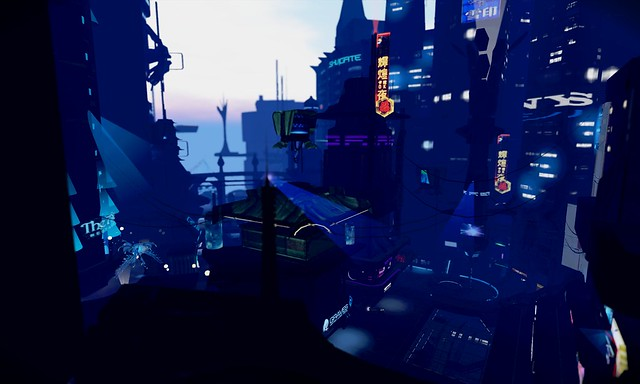 Cyberpunk City Flickr Photo Sharing