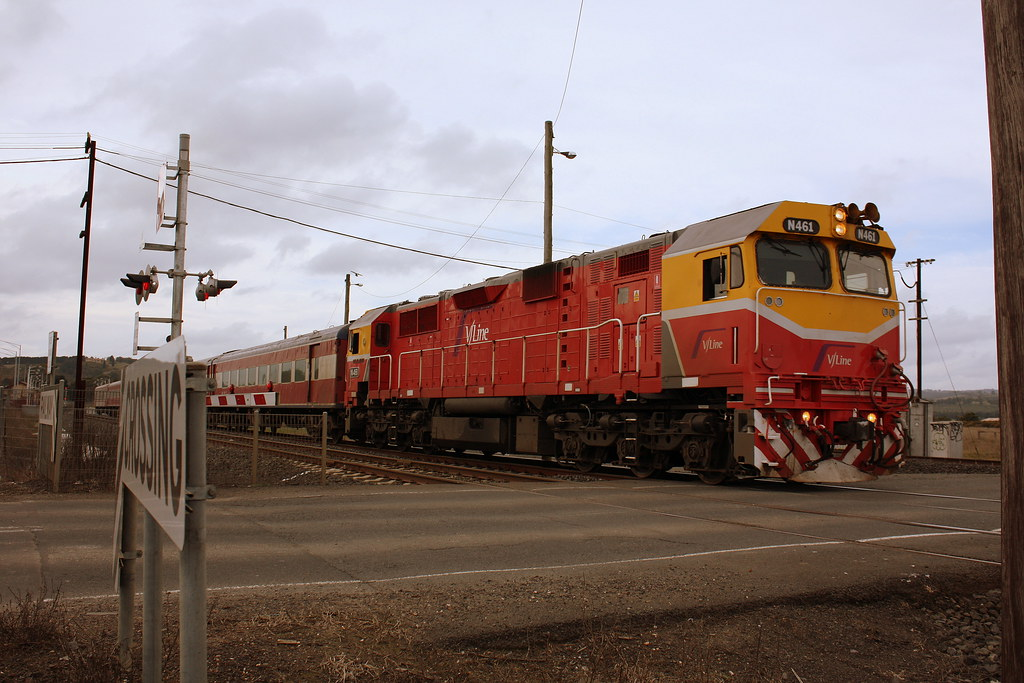 N461 up Shepp pass by LC501