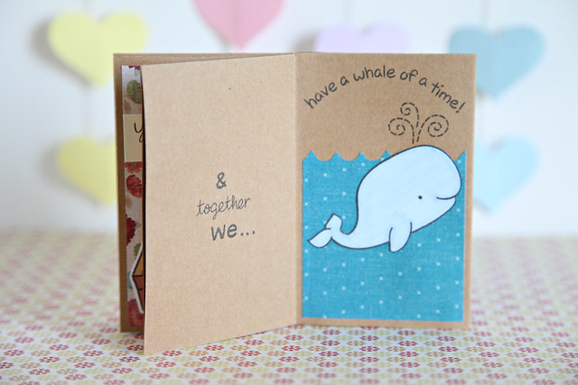 & together, we...have a whale of a time!