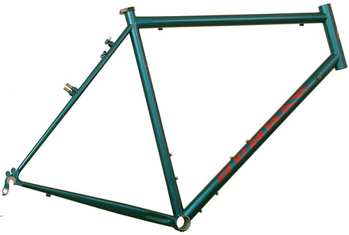 <p>Gunnar Grand Tour painted Teal with red decals.</p>