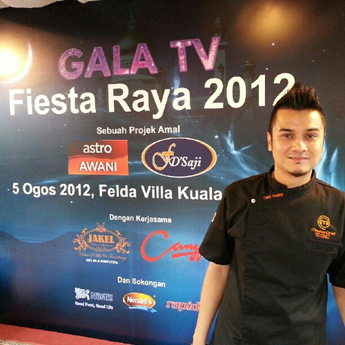 Juara Masterchef Selebriti Dato' Fazley tgh ready utk lawan masak