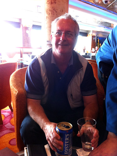 Norwegian Pearl - Mike's Dad With (GASP) Foster's