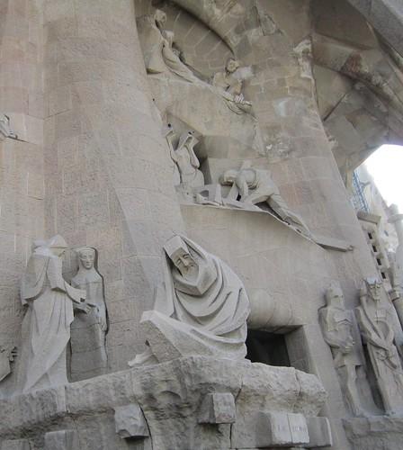 サグラダ・ファミリア 「キリストの受難」ファサード 群像 by Poran111
