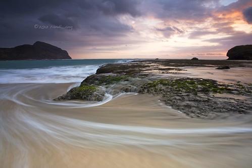 sunset seascape west beach canon landscape eos rocks wave filter 5d ang hitech randi barat sumbawa ksb sekongkang rantung