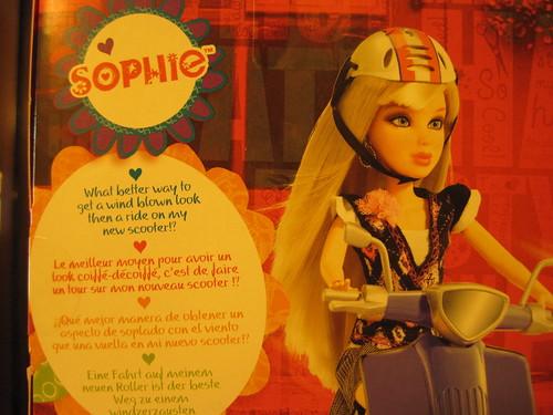 Sophie y su ficha