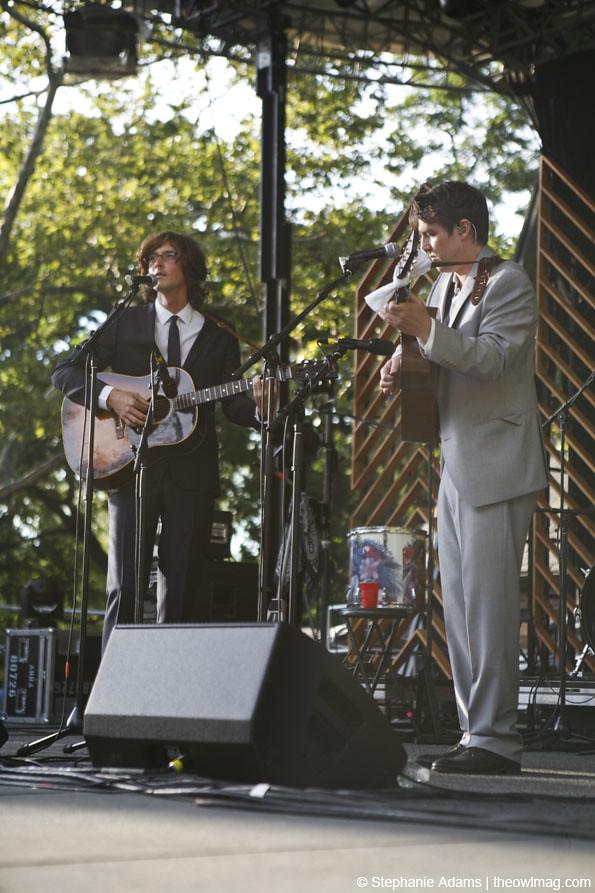 The Milk Carton Kids @ Central Park Summerstage, NY 8/6/12