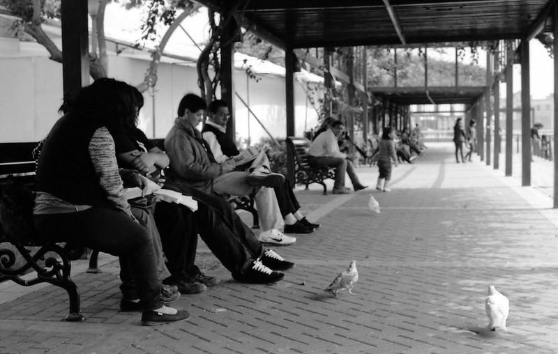 Fotografía convencional, Lima en rollo: Mirador Parque de la Muralla.