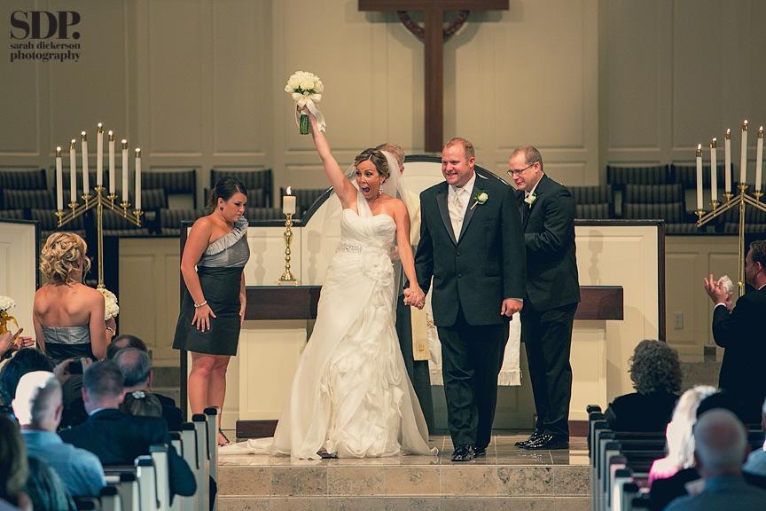 Village Presbyterian wedding Kansas