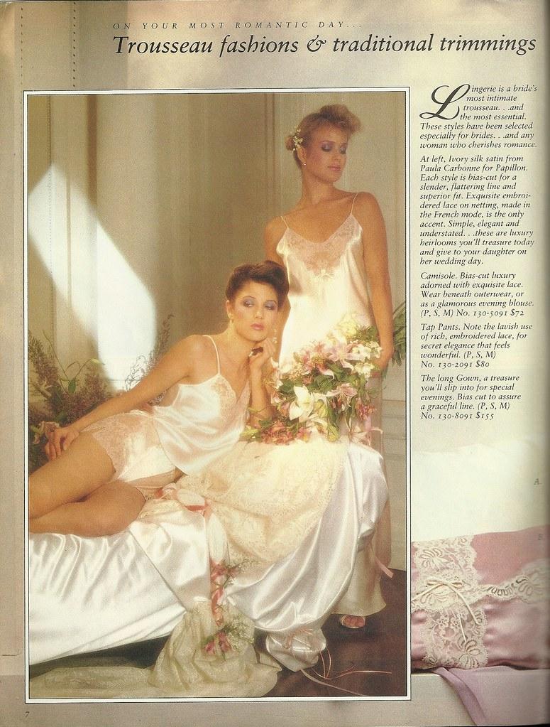 yellow dress victoria secret 1986