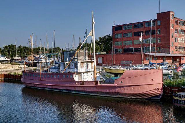 Docked on the KK River