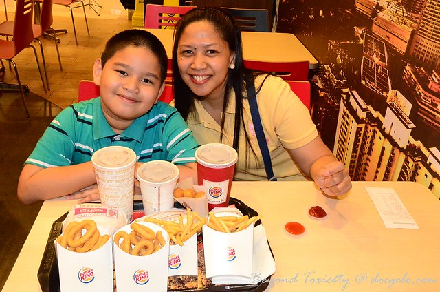 burger king, sunway carnival mall, penang, august 11, 2012