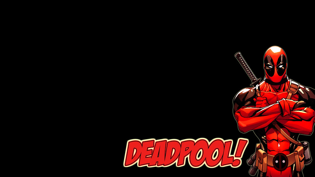 deadpool wallpaper | Just a simple wallpaper I did as a ...