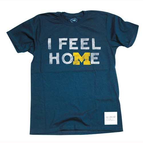 I Feel Home University of Michigan T-Shirt