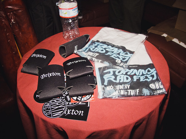 Brixton Coozies & JRF Tee