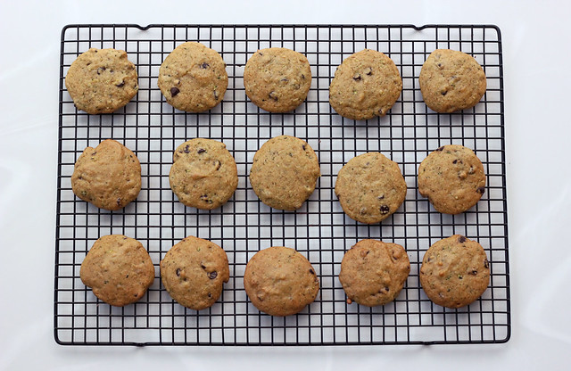 Grain-Free Zucchini Chocolate Chip Cookies - Gluten-free + Dairy-free with Vegan Option