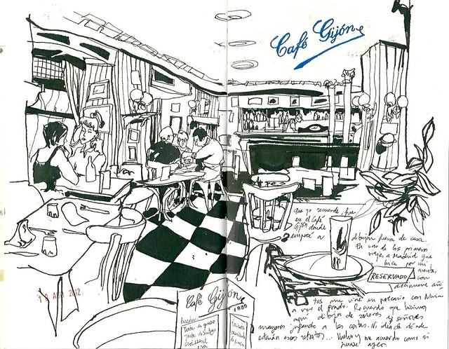Café Gijón. Madrid