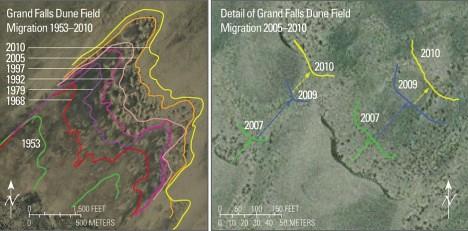Dinetah Dunes Migration Map