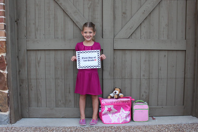 Kate's 1st Day of 1st Grade!