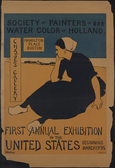 Society of painters in water color of Holland