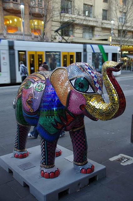 Elephant - Melbourne Street Art