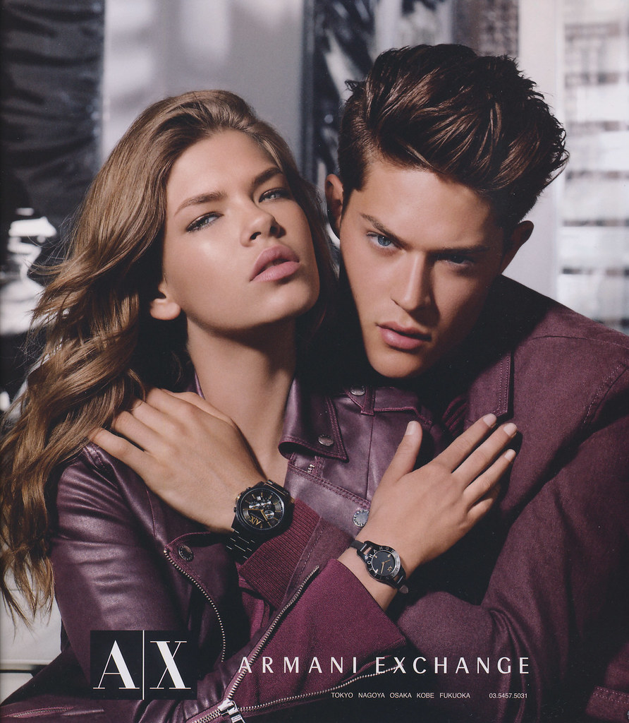 Cesar Casier0006_Armani Exchange AW12(LOADED vol.6_2012_10)