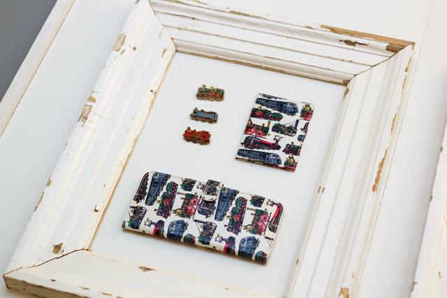Cath Kidston SS13 Spring Summer train print purse