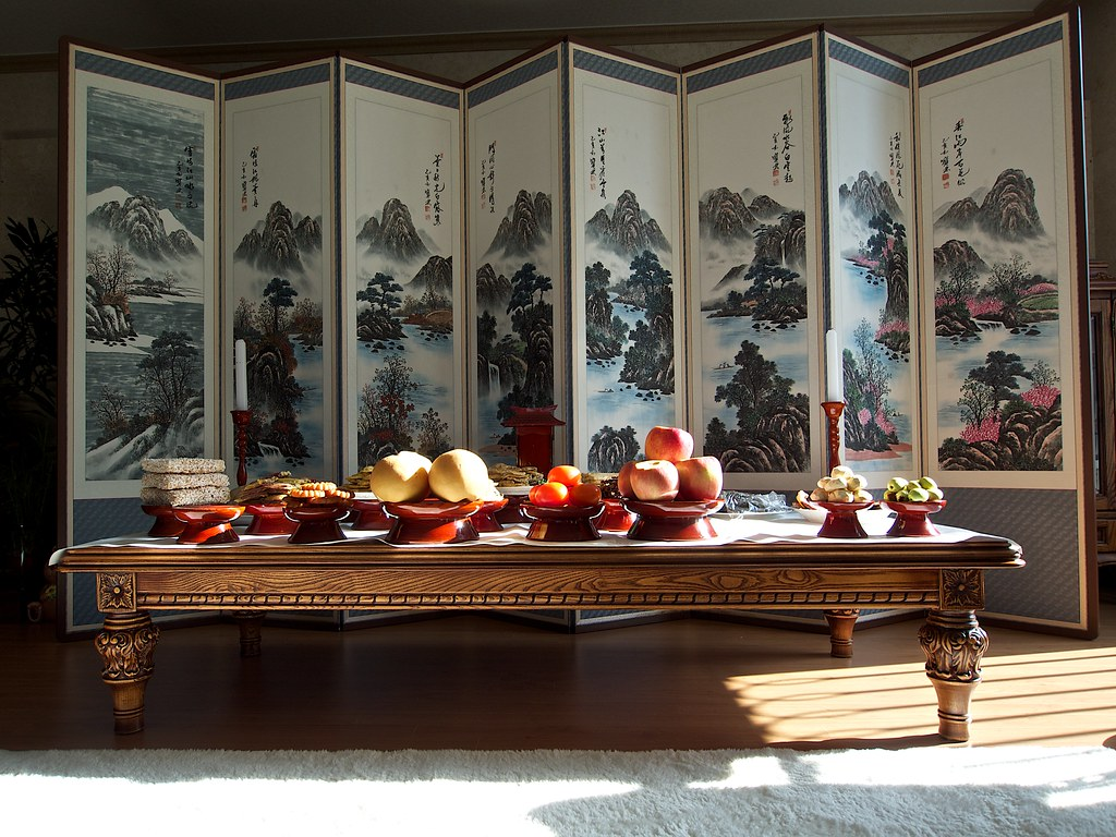 Chuseok Table