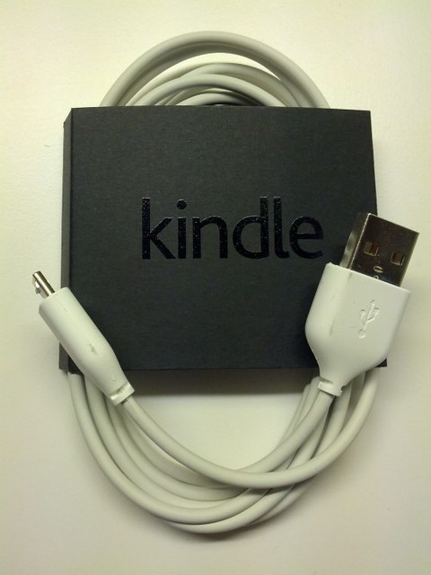 Kindle Paperwhite included USB Cable Accessories