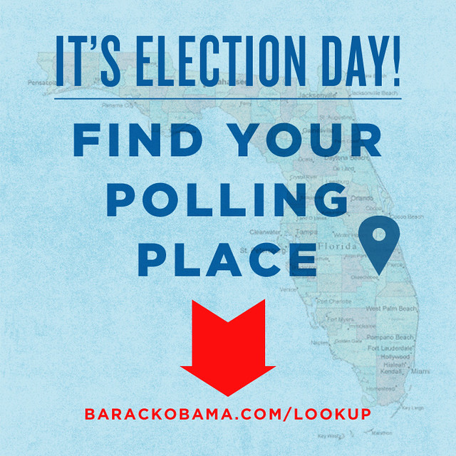 Confirm your Florida polling location