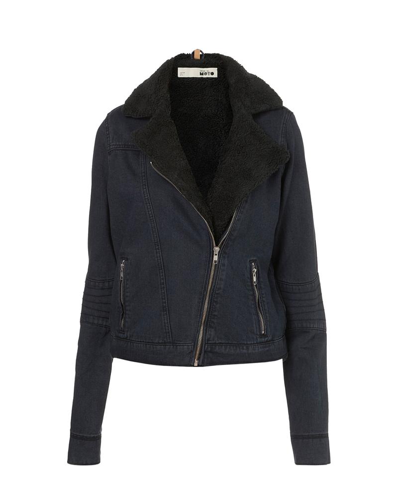 Topshop tall bork biker jacket