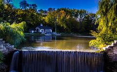 Mill Pond Waterfall