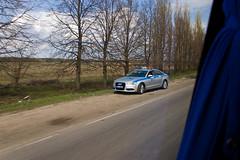 Patrouille de police en AUDI A6 ?