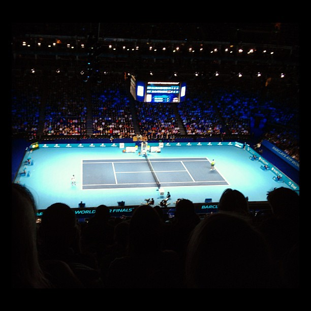 ATP World Tour Finals 2012 - Del Potro v Tipsarevic