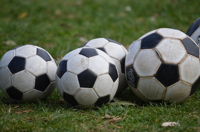 Photo:Soccer Balls By:Joe Shlabotnik