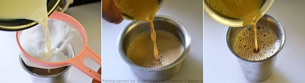 Filter Kaapi Step4