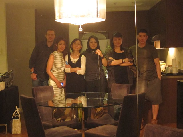 Jeroen, Keri, Sayoko, Cecile, Grace and Cedric