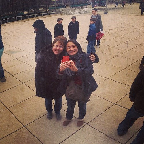 #bean #selfie #chicago