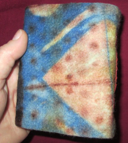 Felt book from Chad Alice Hagen's workshop
