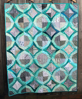 finished icicle quilt