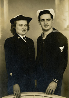 Curtis Peterson and Ethel Shultz at the Breakers hotel in Palm Beach, Florida